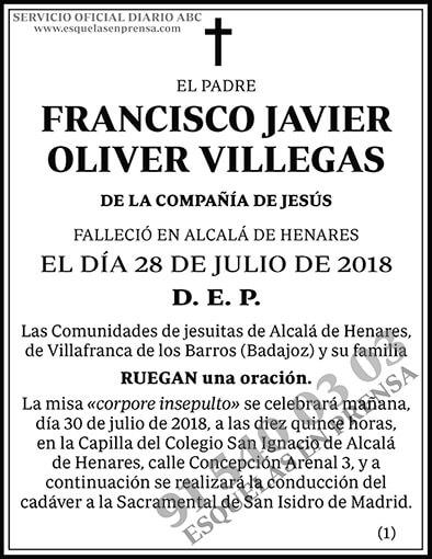 Francisco Javier Oliver Villegas